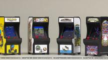 パックマンやギャラガがキーホルダー大に!! 2678円の超ミニゲーム筐体TINY ARCADEが日本発売