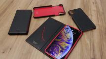 鮮烈な赤の差し色。GRAMASのiPhone XS/Max用ケースにブラック×レッド限定モデルが