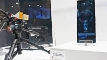 Xperiaの5G版? 「3Gbps出せる」ミリ波スマホが展示