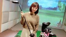 床が傾く最新ゴルフシミュレーターで初ラウンド! 実際のコースと比較してみた:小彩楓のよちよちIT体験記