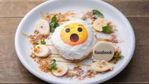 あの絵文字がパンケーキに、日本初Facebookカフェが原宿に3日間限定出現。プライバシー管理の『甘さ』がメニューに反映