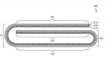 アップル、『三つ折りiPhone』の特許を取得