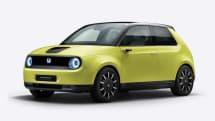 ホンダ初の量産電気自動車「Honda e」欧州で予約開始 ボディ・カラーは5色
