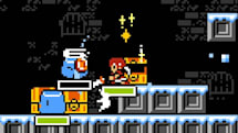 魔の塔をひらすら登って生き延びよ!レトロ風アクション「Pandoraid」:発掘!スマホゲーム