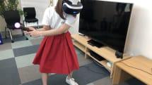 「みんなのGOLF VR」でフルスイング! リアルゴルフと比べてみました(小彩楓)