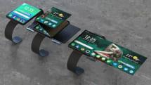 OPPOが折りたたみ/ロールディスプレイ搭載のスマートウォッチ特許を出願