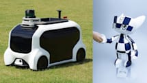 トヨタ、東京オリンピック向けのロボットを発表。ハンマー投げなどの回収もサポート
