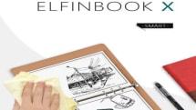 水で消せるノートブック「Elfinbook X」。 書いたページをスマホで管理可能