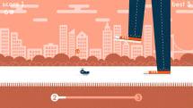 踏まれずに逃げよう!アリ目線で挑む回避アクション「Squashy Bug」:発掘!スマホゲーム