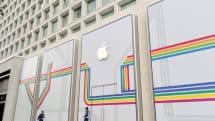 次のAppleストアは丸の内で確定。三菱ビルに「丸の内」デザインとアップルロゴ