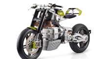 Blackstone HyperTek electric motorcycle smashes all molds