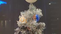大量破壊兵器デス・スターきらめくスター・ウォーズ クリスマスツリー、45%オフでセール中