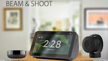 スマートスピーカーで操作できる赤外線リモコン&カメラ。スマートホーム・スターターセット「AuBee BEAM & SHOOT」