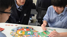 データとサービスの関係を学べるGoogle発のボードゲームを高校生が体験
