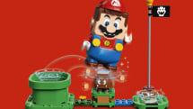 「レゴ×スーパーマリオ」初コラボ、コースを作って遊ぶデジタルブロックトイ発表