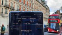 ロンドンの5G速度はどれくらい?プリペイドの「5G SIM」で試してみた:山根博士のスマホよもやま話
