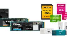 東芝からブランド変更。キオクシアのSDカードやSSDが4月中旬から発売