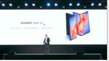 速報:ファーウェイ「Mate XS」発表、コンパクトに進化した5G折りたたみスマホ