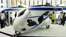 NEC「空飛ぶクルマ」製作。その目的はドローンを知ること #CEATEC