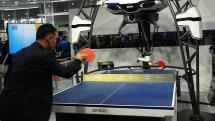 卓球ロボットに『人の心を知るAI』搭載へ。オムロンとスクエニがタッグ:2019国際ロボット展