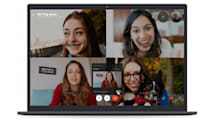 Skype's background blurring feature will hide a multitude of sins