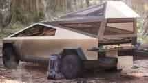 テスラ車に「キャンプモード」が実装。Cybertruckをキャンピングカーにするキットも用意