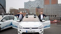 VW tests self-driving cars on the streets of Hamburg