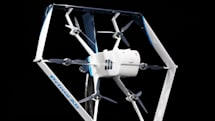 Amazon's new delivery drone is a helicopter-airplane hybrid
