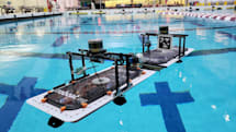 Autonomous 'roboats' can assemble into floating structures