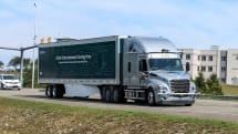 Daimler starts testing self-driving trucks on public roads