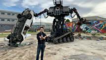 MegaBots calls it quits, puts battle robots on eBay