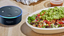 Alexa can reorder your go-to Chipotle meal