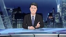 Stephen Colbert is producing an animated news spoof for CBS All Access