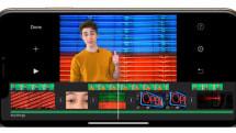 iOS版 iMovieがバージョンアップ。グリーン/ブルーバック合成が可能に。80種類の自動調整BGMも追加