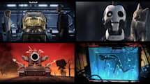 David Fincher and Tim Miller's animated Netflix series is not for kids