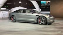 ソニーが電気自動車を発表。センシング・エンタメ技術山盛りのプロトタイプ「VISION-S」