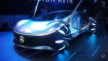 メルセデス・ベンツ、映画『アバター』風のコンセプトカー「AVTR」を公開