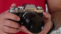 Fujifilm X-T3 camera update adds advanced gimbal controls