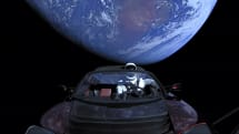 SpaceX's Starman Roadster has ventured past Mars