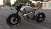 Nawa's stylish e-motorbike uses an ultracapacitor to drastically boost range