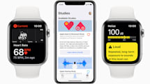 Apple's latest Watch studies cover hearing, hearts and women's health