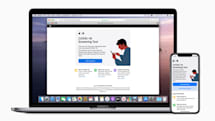Apple unveils its own COVID-19 screening app and website