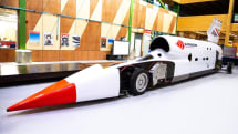 Bloodhound will test its supersonic car in Africa this October