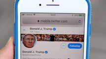 Trump tries to overturn ruling stopping him from blocking Twitter users