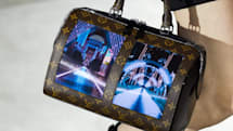 Louis Vuitton's flexible-screen handbags are the definition of extra