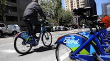 Lyft sues San Francisco to block rival bike-sharing services