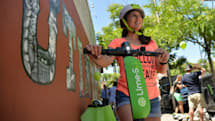 Uber will let users rent Lime scooters through its app