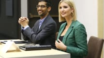 Google and Ivanka Trump unveil a tech job training program