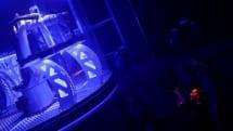 A robot arm is Prague's latest star DJ