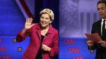 Elizabeth Warren Facebook ad mocks Facebook's fact checking policies